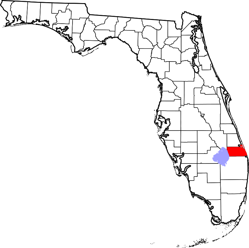 Martin County FL map - A-1 Bail Bonds Agency