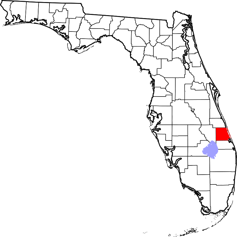 St Lucie FL map - A-1 Bail Bonds Agency