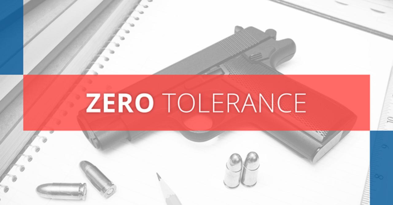 Zero Tolerance - A-1 Bail Bonds Blog